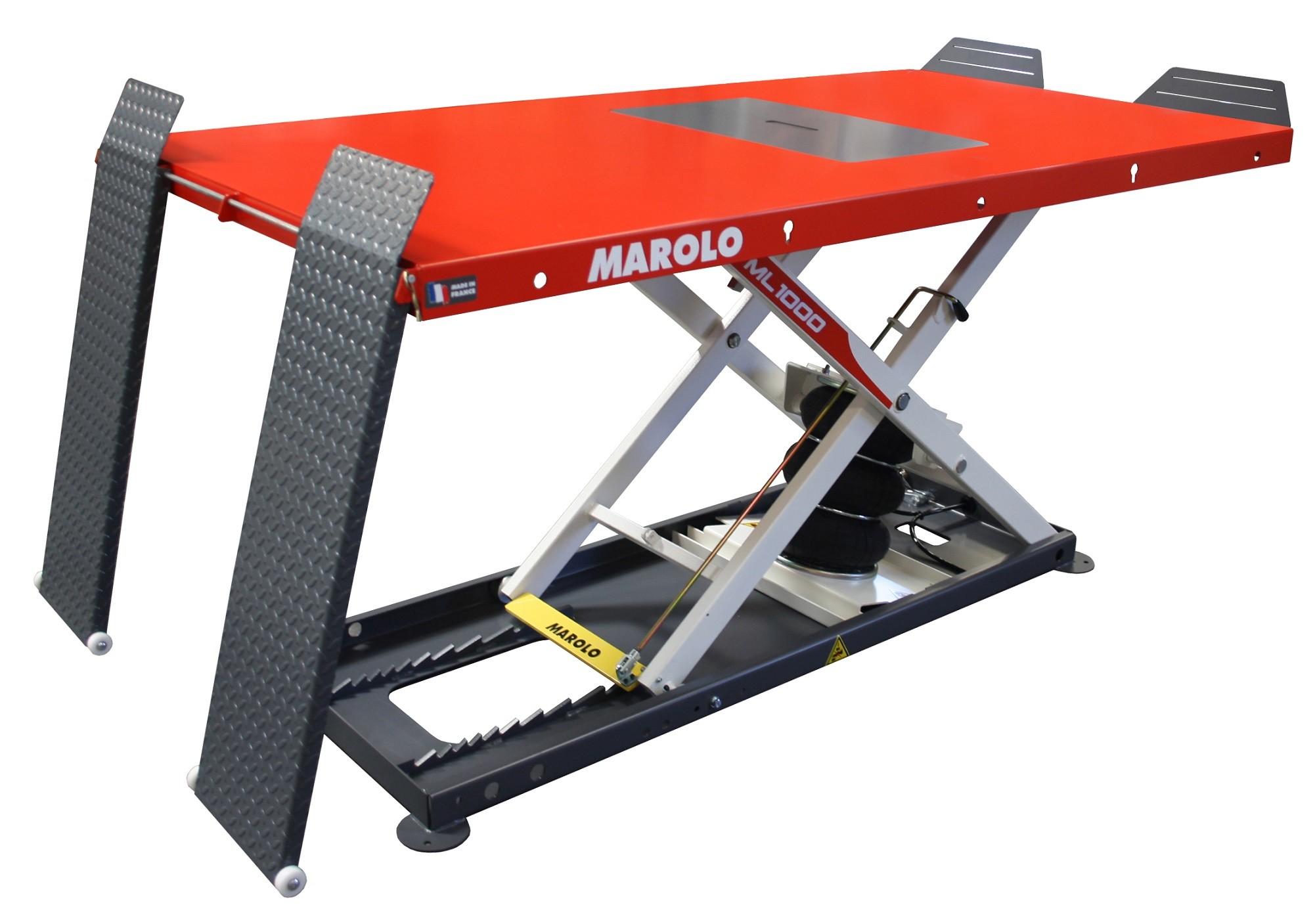 Table MAROLOLIFT 1000 PA Pneumatique