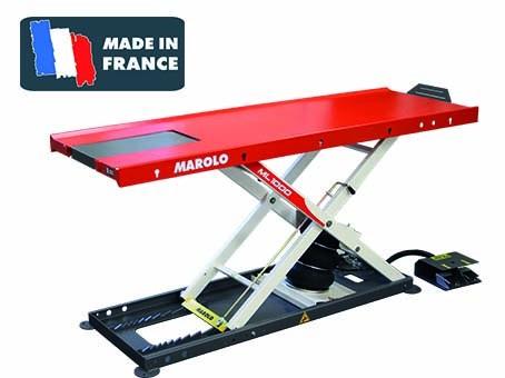marolotest table marololift 1200 pl pneumatique. Black Bedroom Furniture Sets. Home Design Ideas