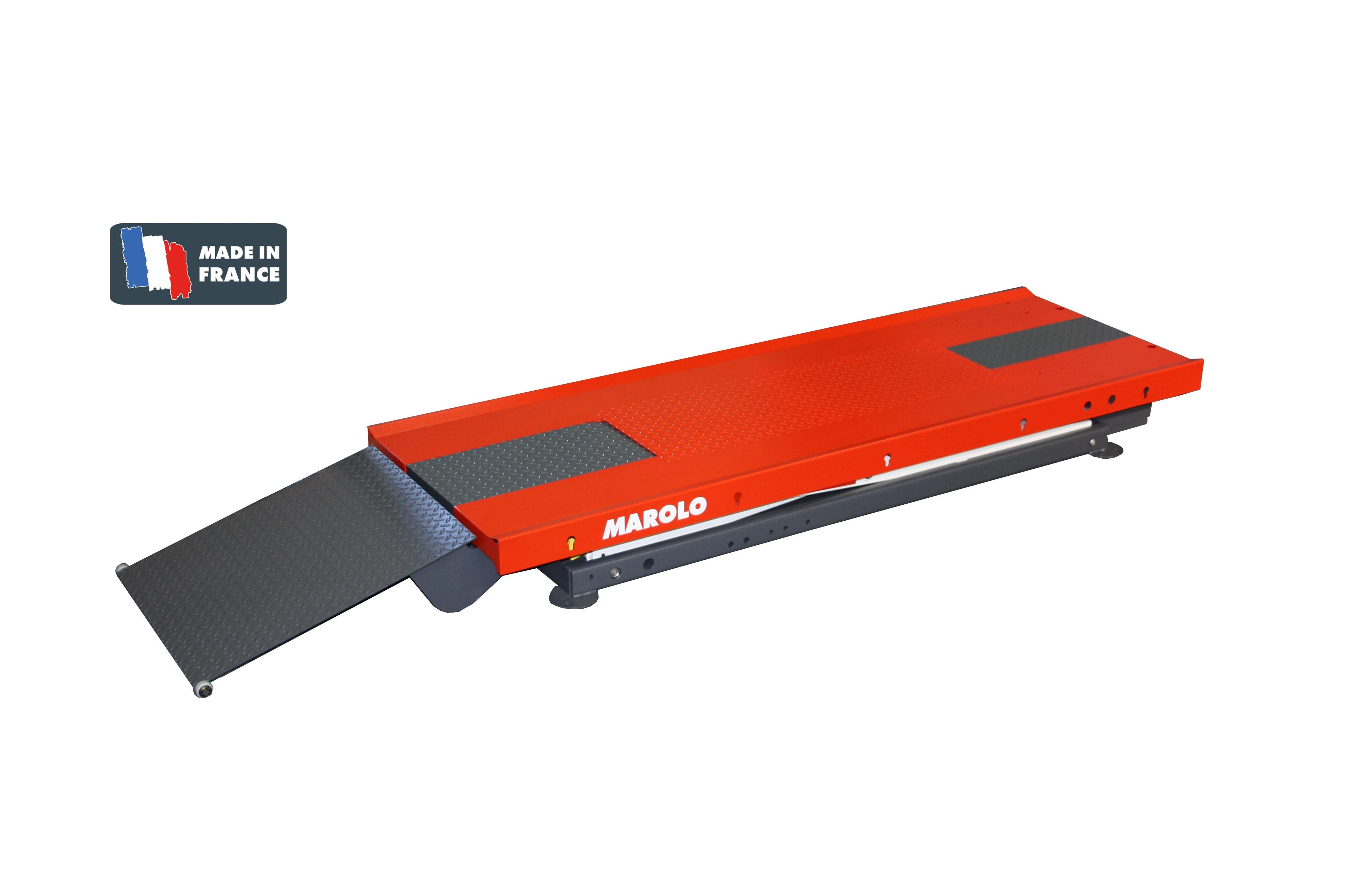 Marolotest table marololift 1000 h hydraulique - Table verin hydraulique ...