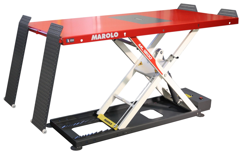 Marolotest table marololift 1200 ha hydraulique - Table verin hydraulique ...