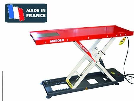 marolotest table marololift 1200 hl hydraulique centrale int gr e. Black Bedroom Furniture Sets. Home Design Ideas