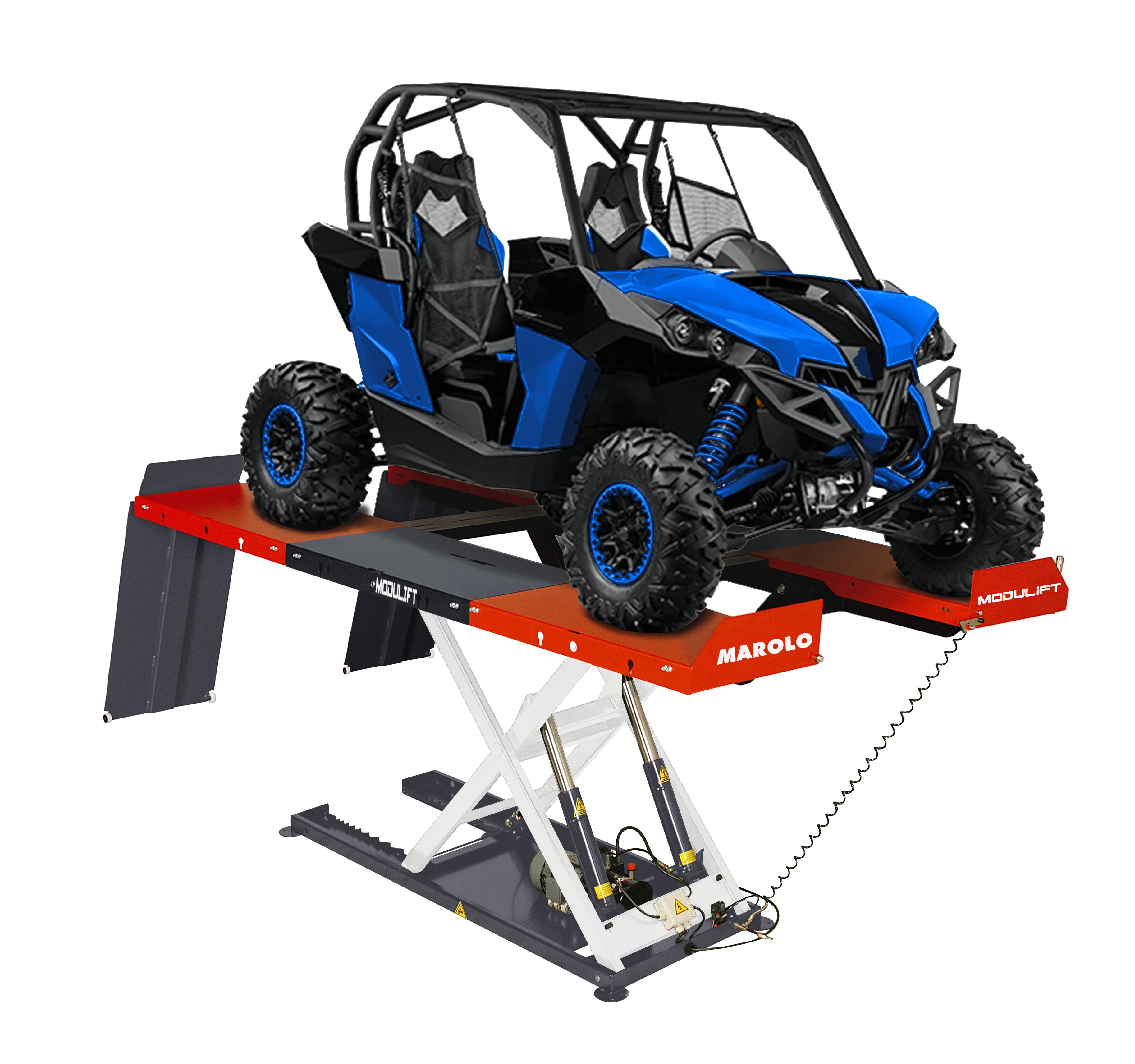 Table elevatrice pour tracteur tondeuse tracteur agricole - Table de levage moto occasion ...