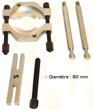 Coffret extracteur et séparateur de roulements