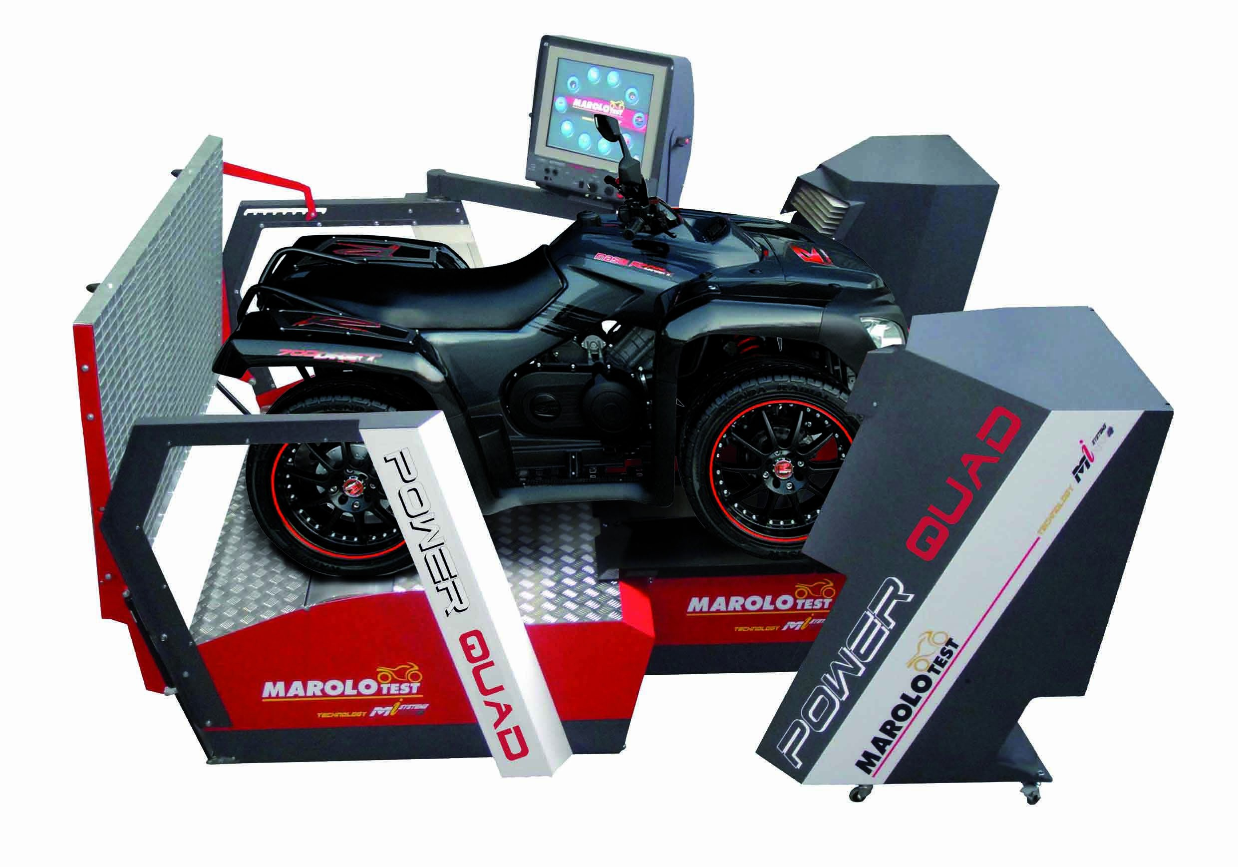 Marolotest Banc De Test Powerfull Motoquad Basic Bloc Roue