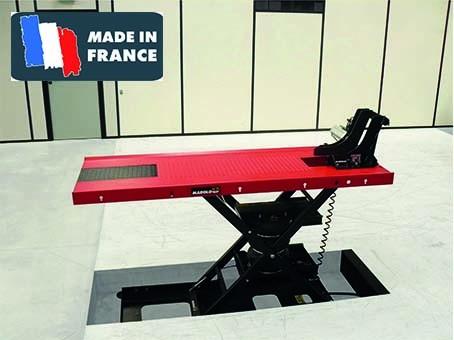 marolotest table marololift 1200 ple pneumatique encastr e. Black Bedroom Furniture Sets. Home Design Ideas