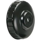 Cloche filtre à huile H : 12 mm