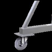 Option roues gonflables pour Portique ADDICRANE 500