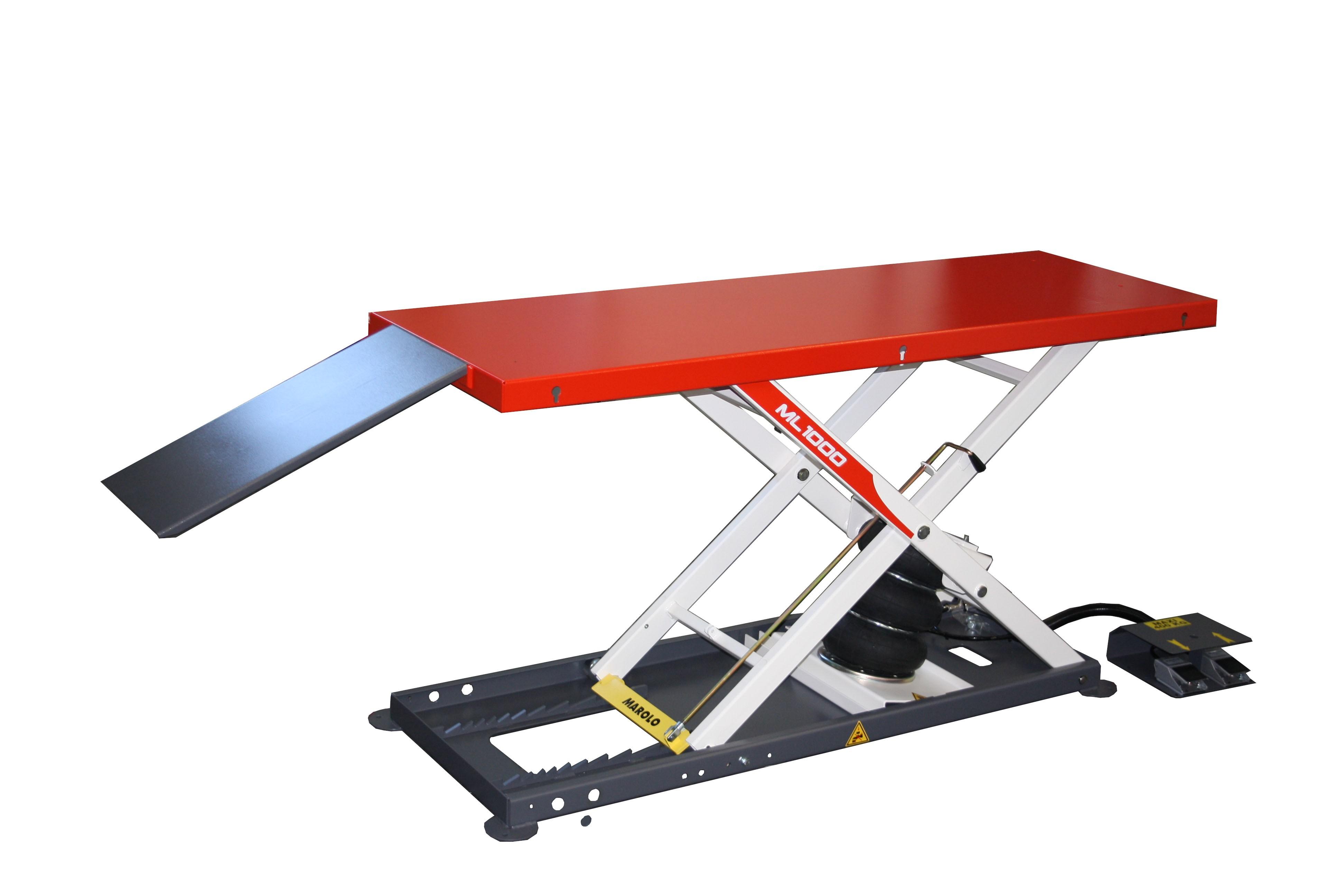 marolotest lift marololift 1000 pcl pneumatic. Black Bedroom Furniture Sets. Home Design Ideas