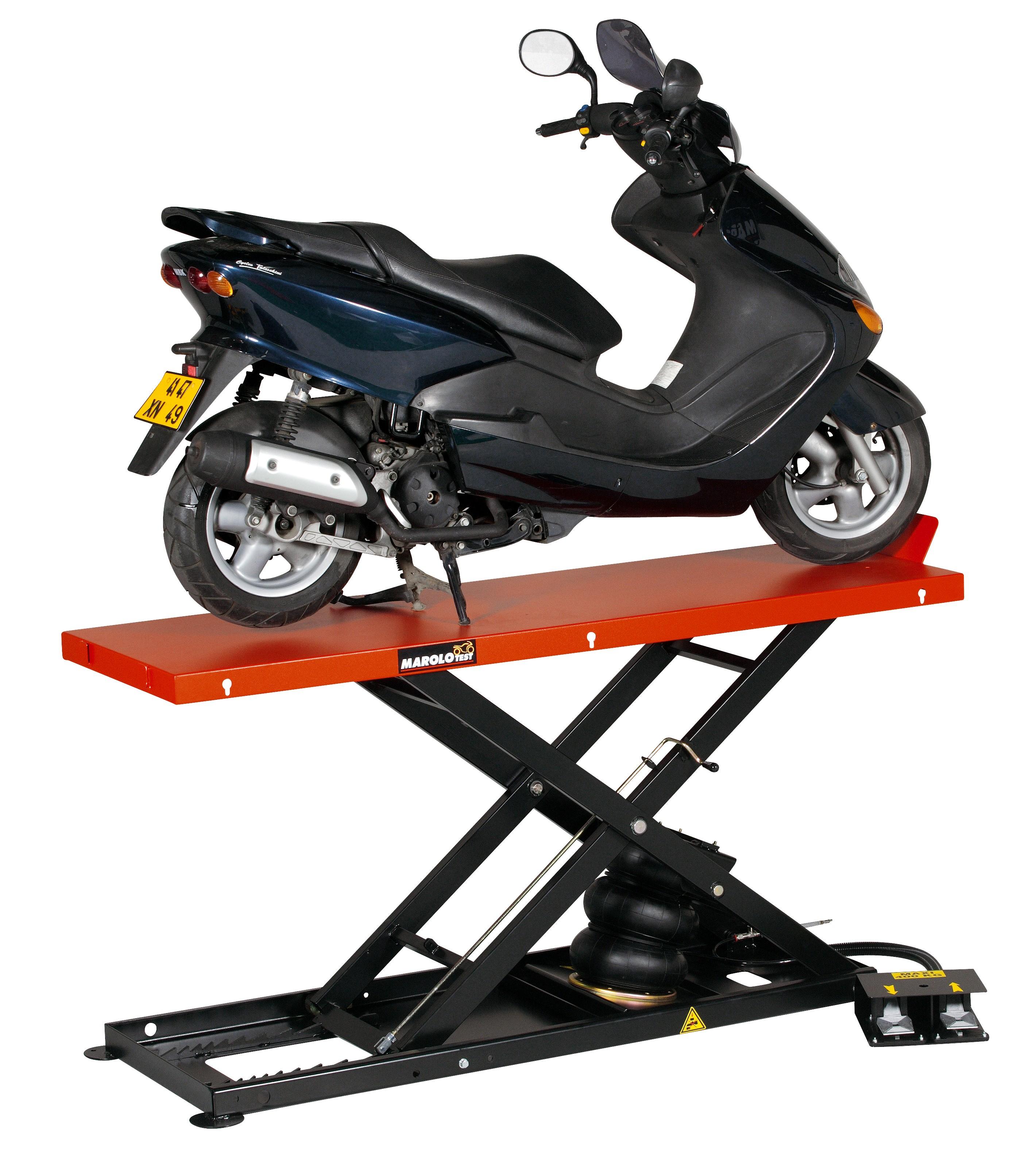marolotest lift marololift 1000 pcl pneumatic pneumatic lifts marololift moto. Black Bedroom Furniture Sets. Home Design Ideas