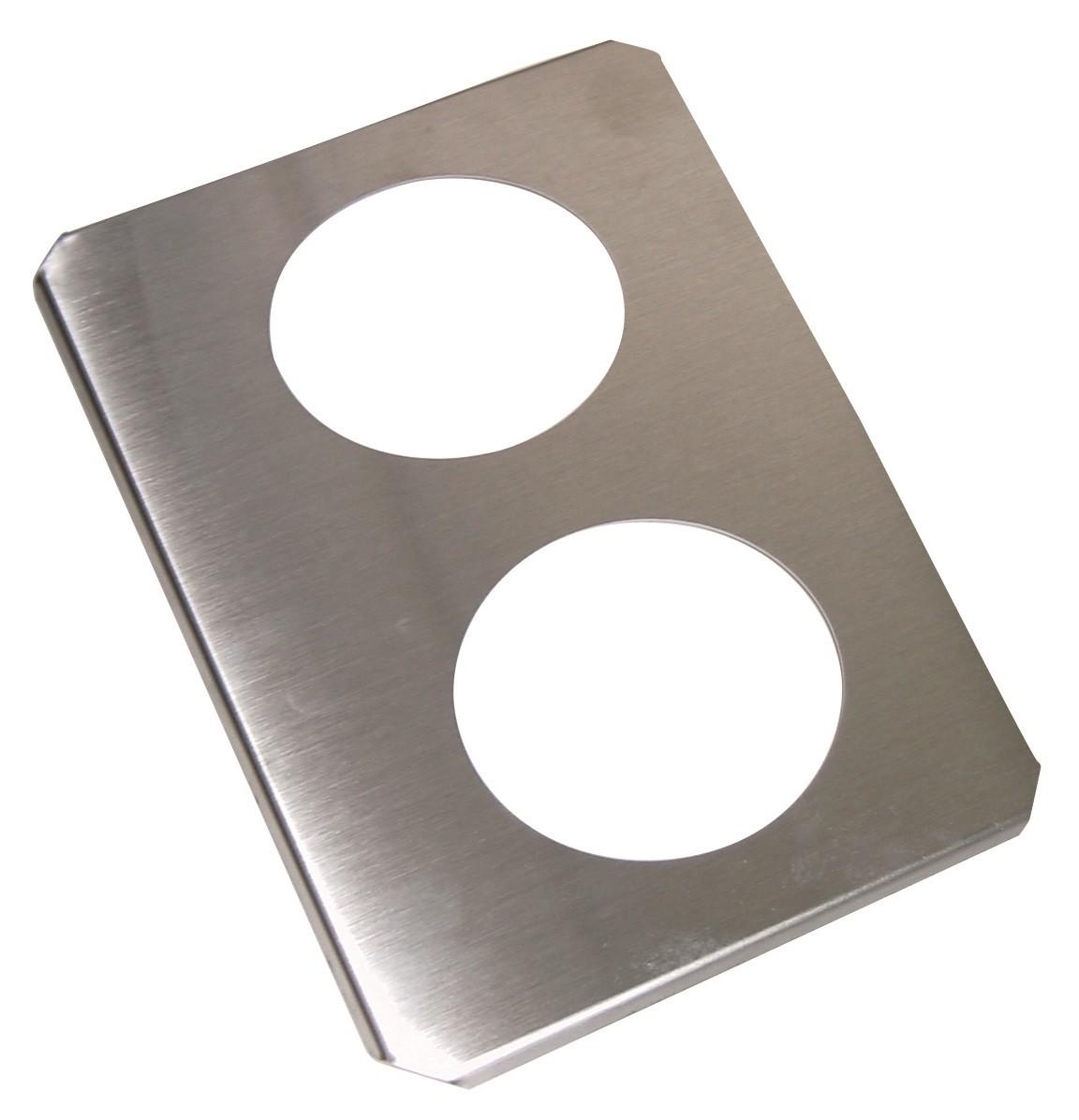 Stainless steel beaker support (2)