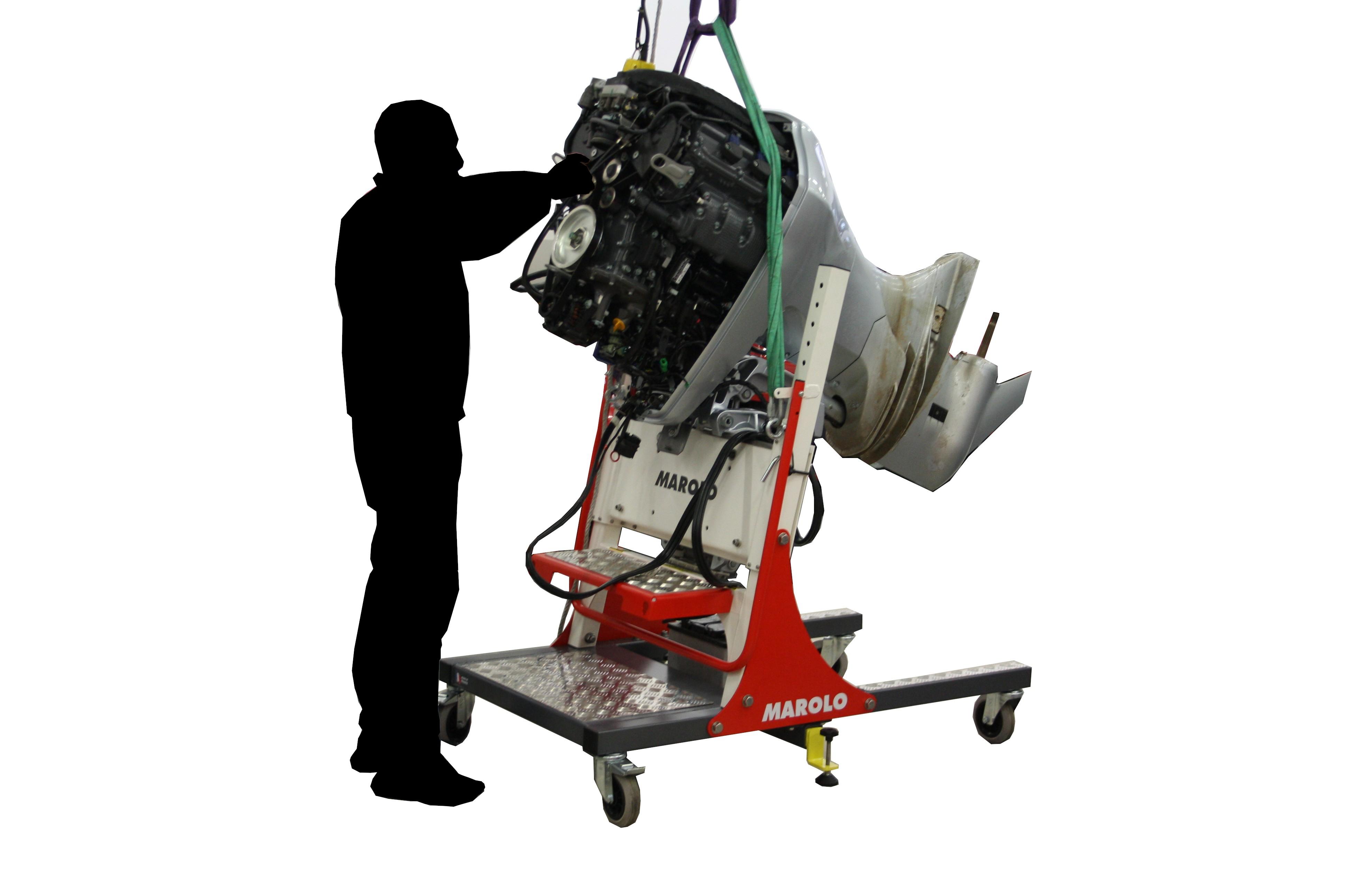 Marolotest outboard engine stand marolo sm 450