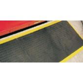 Clippable anti-fatigue central mat