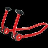 Crutch below of adjustable ford