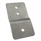Stainless steel bracket for automatic strap - x 1 unit