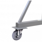 Option inflatable wheels for Crane ADDICRANE 500