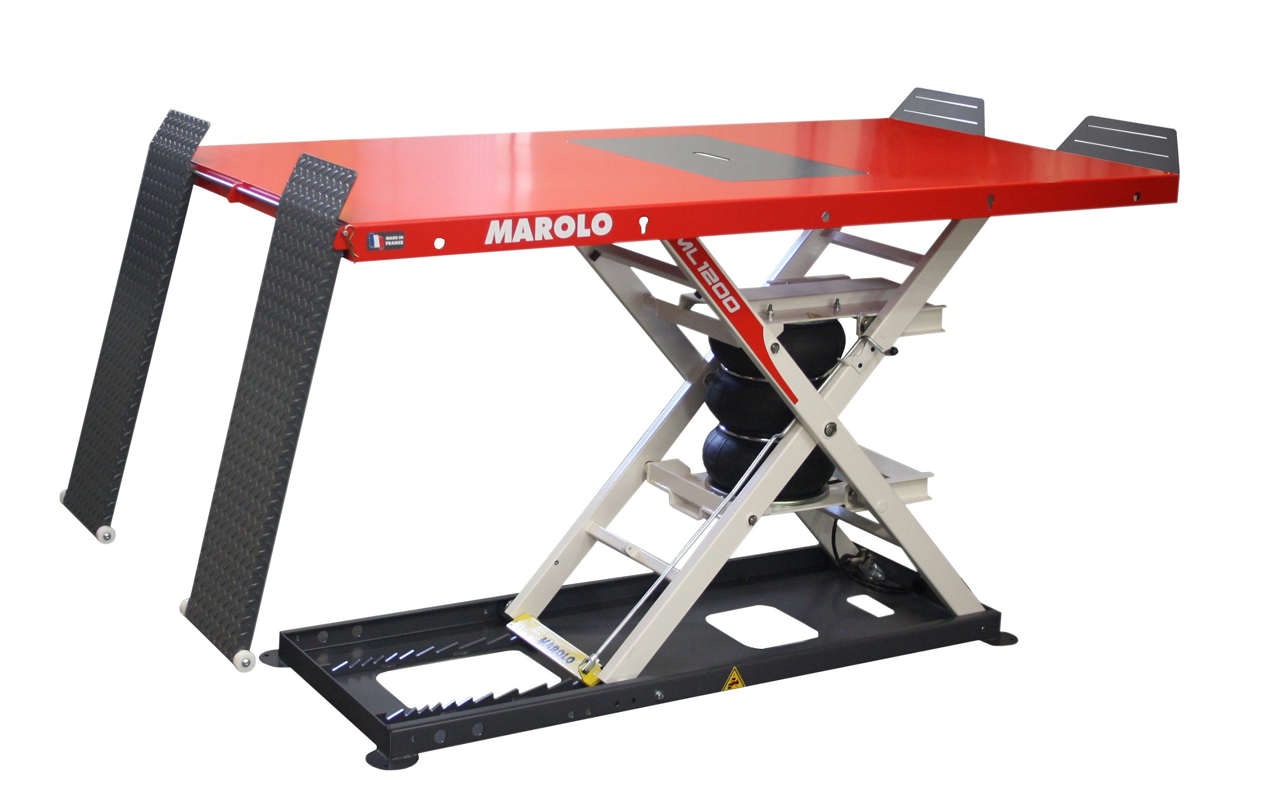Table motoculture marololift 1200 PA pneumatique