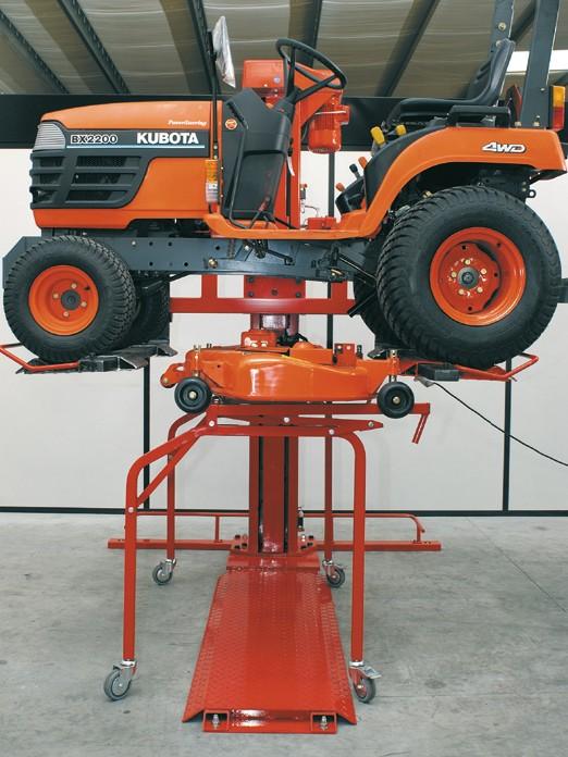 Montage- und Abstellwagen für Mähdecks