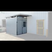 Cabine insonorisée extérieure - 30 dB - Marolo