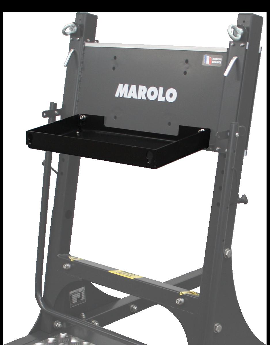 Bandeja de herramientas / Paso para soporte motor fuera borda MAROLO SM 450 & SM 150